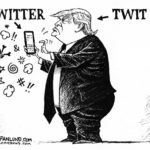 #9: Trump's personal tweets thrill 1/3 of the country, offend 2/3.